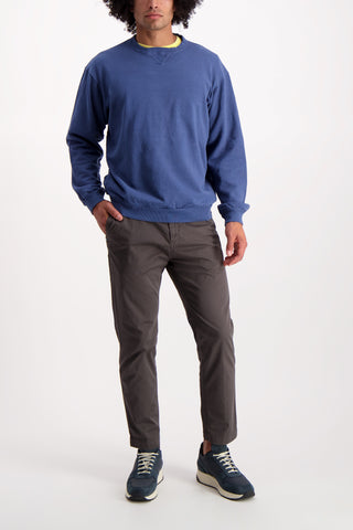 Full Body Image Of Model Wearing Dubble Works Pocket Crewneck
