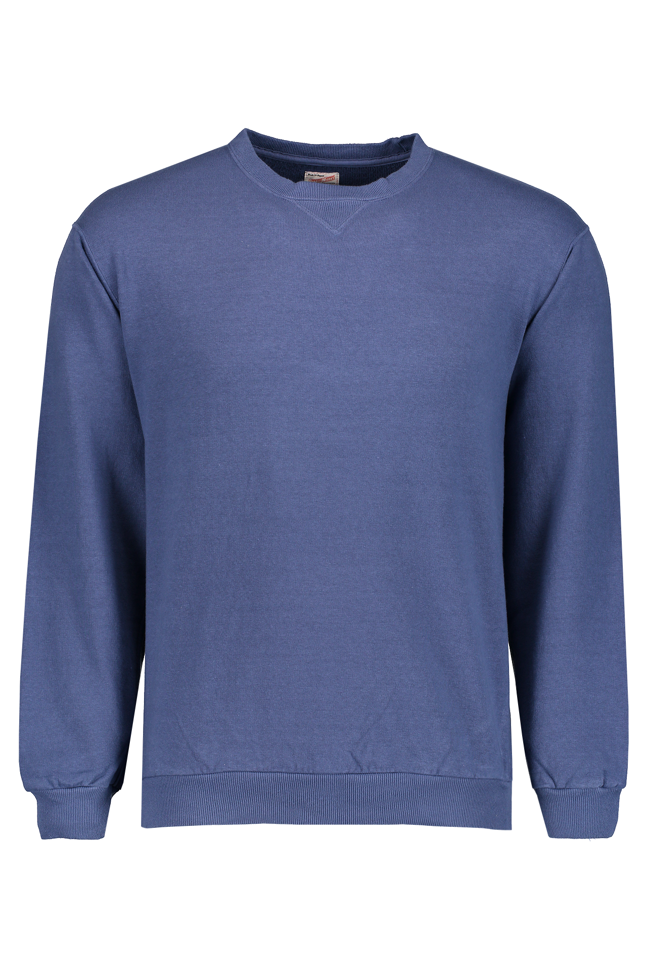 Front Image of Dubble Works Pocket Crewneck