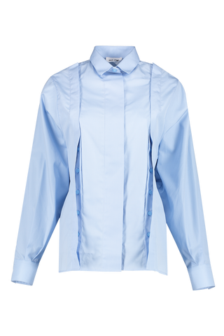 Front image of Each X Other Shirt With Buttoned Openings