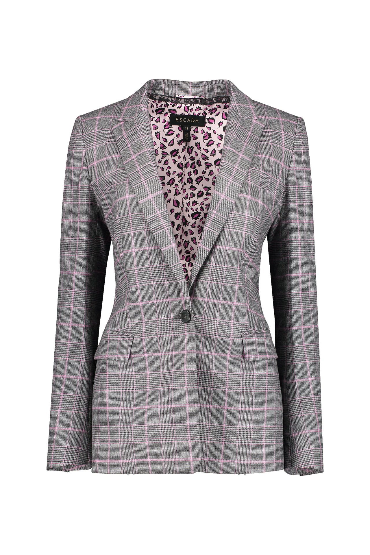 Front view image of Escada Begas Blazer Melange