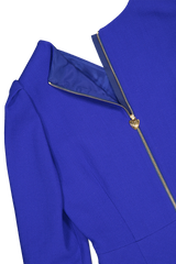 Back zip detail image of Escada Dllea Dress