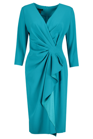 Front view image of Esacada Drahna Dress Blue