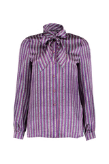 LS NOBUJA BLOUSE DARK PURPLE
