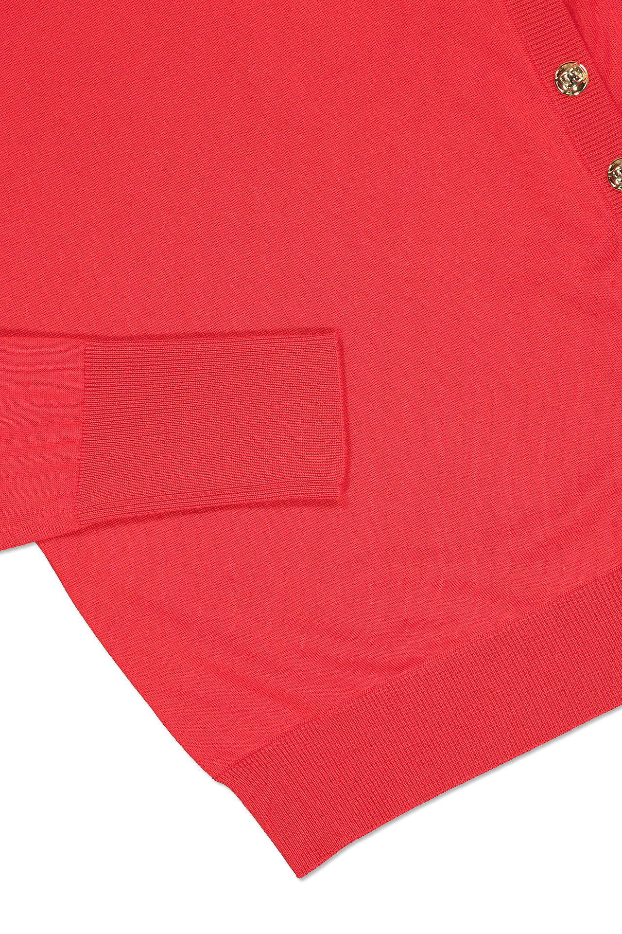 Hemline and sleeve detail image of Escada Seton Turtleneck Sweater