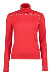 Front image of Escada Seton Turtleneck Sweater