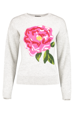 Front view image of Escada Srosso Sweater Melange