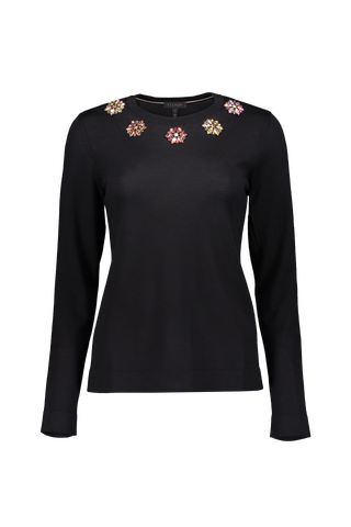 4dc5daf638f2 CASHMERE V-NECK SWEATER NAKED.  435.00. QUICK VIEW · Add to Wishlist. SUTTI  FLORAL KNIT TOP BLACK