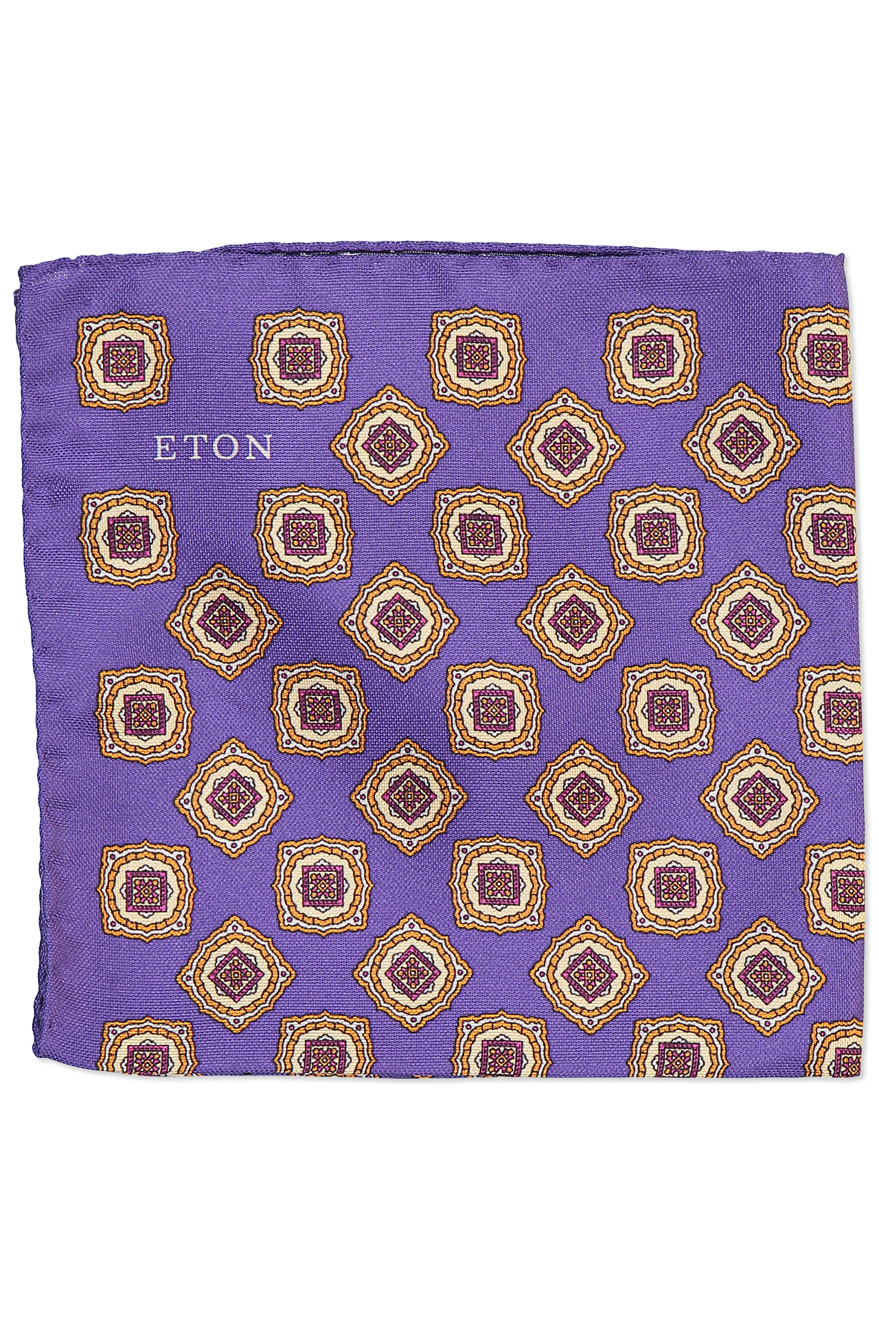 Square Print Pocket Square