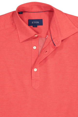Neck Detail Short Sleeve Popover