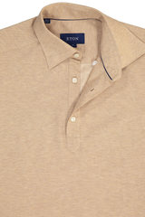 Short Sleeve Tan Popover