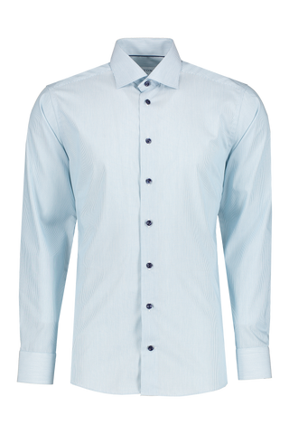 Front image of Eton Slim Tonal Stripe with Piping