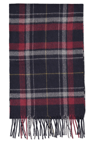 Front view image of Eton Wool Plaid Scarf