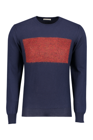 Front image Etro Crewneck Wool Mohair Sweater