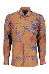 Front image of Etro Floral Dress Shirt