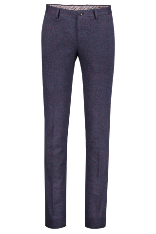 Front view image of Etro Herringbone Trousers