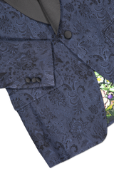 Hemline and sleeve detail image of Etro Wool Silk Jacket