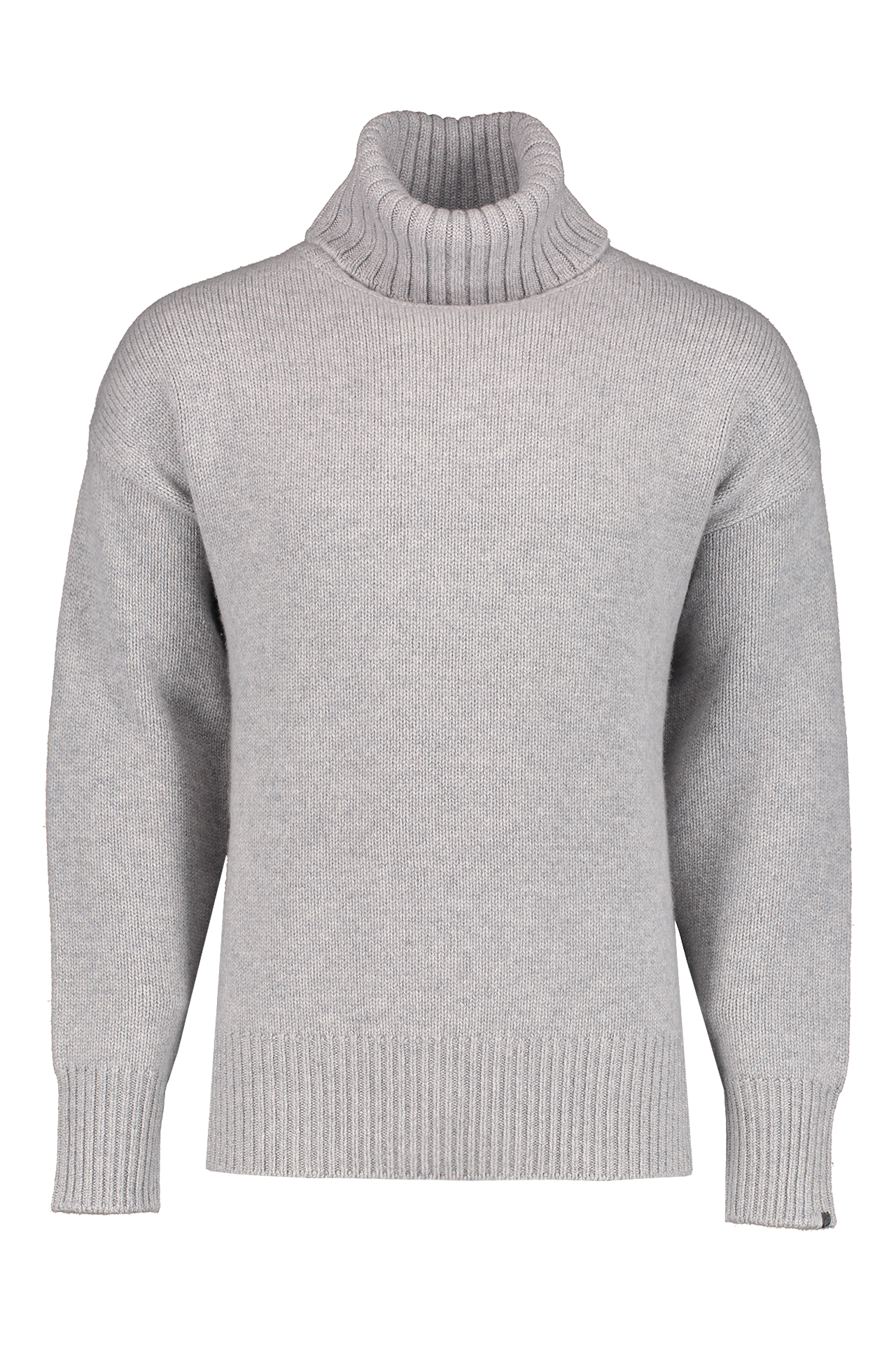 Front view image of Extreme Cashmere N°20 Oversize Xtra Sweater Grey