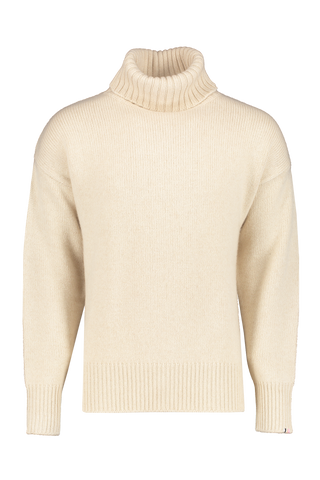 Front view image of Extreme Cashmere N°20 Oversize Xtra Sweater Latte