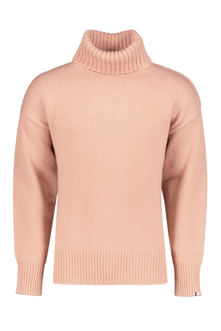 Front view image of Extreme Cashmere N°20 Oversize Xtra Sweater Tea Rose