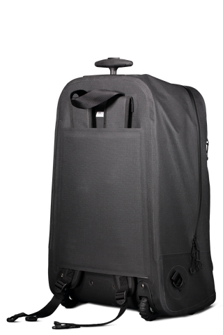 2 Way Trolley Suitcase Black