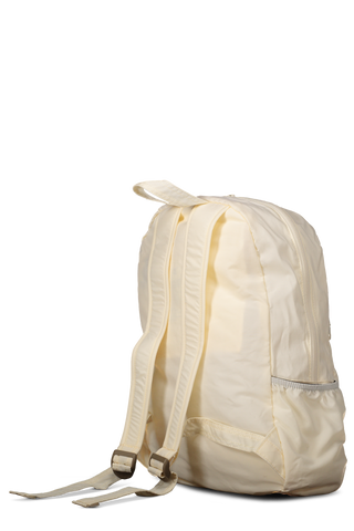Packable Square Backpack White