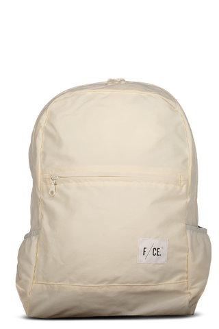 PACKABLE SQAURE BACKPACK WHITE
