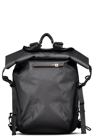 Zip Backpack Black