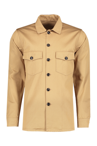 Front view image of Fortela Canvas Military Jacket