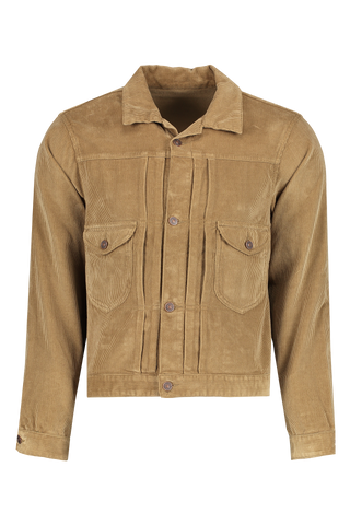 Front view image of Fortel Corduroy Jacket Beige