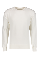 Front view image of Fortela Crew Sweatshirt White