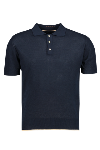 Solid Polo Blue