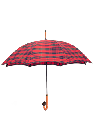 Open full view image of Fox Umbrellas Brown Bulldog Crook Umbrella