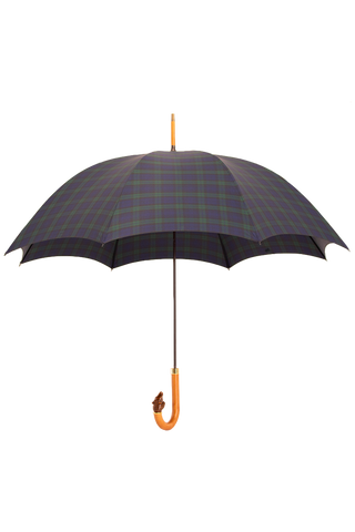 Open full view image of Fox Umbrellas Brown Horse Crook Umbrella