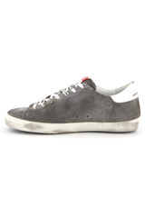 Men's Super-Star Suede Upper Cocco Print Star Leather Heel