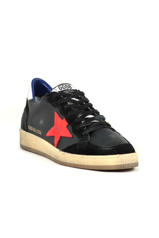 Men's Ballstar Leather Sneaker Nabuk Star