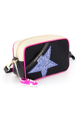 Canvas Glitter Star Bag