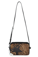 Shoulder Strap Image of Golden Goose Women's Star Bag Leopard
