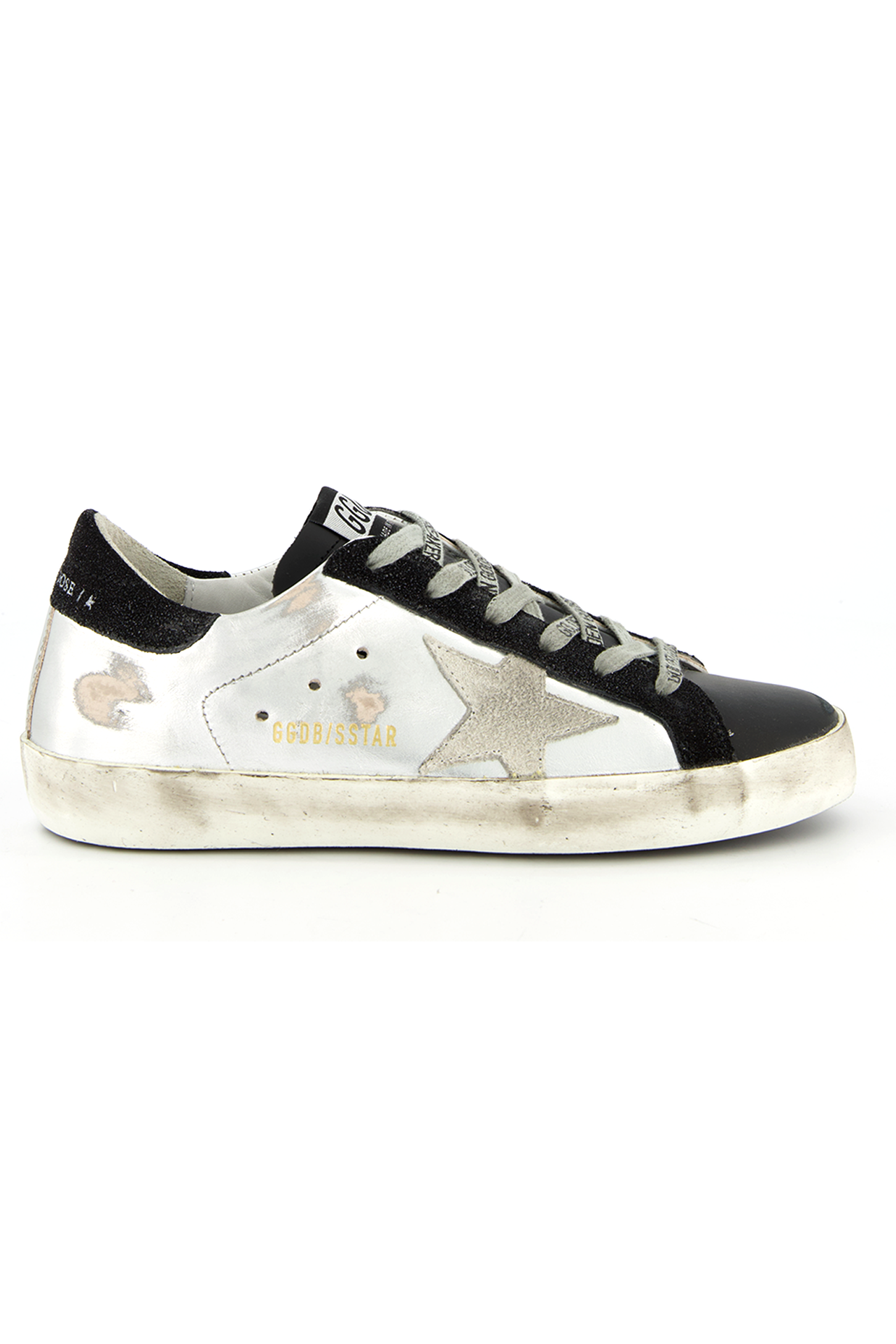 Super Star Laminated Sneaker w/ Suede Star