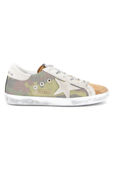 Front side image of Golden Goose Superstar Sneaker Camo
