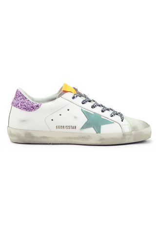 Women's Superstar Sneaker Ice White Aquamarine Pink