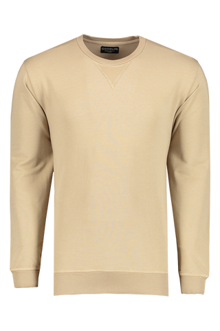 Micro Terry Crew Sweatshirt Timber