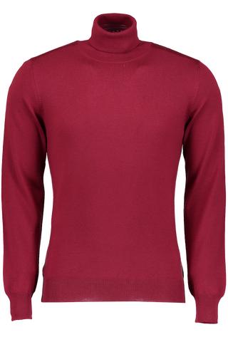 MERINO TURTLENECK BURGUNDY