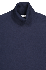 Turtleneck Sweater Navy