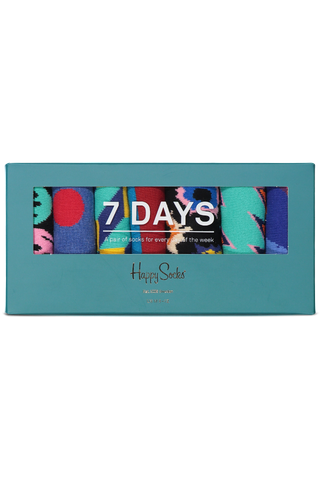 Front image of Happy Socks 7-Day Gift Box