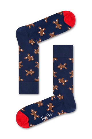 Image of Happy Socks Gingerbread Man Sock