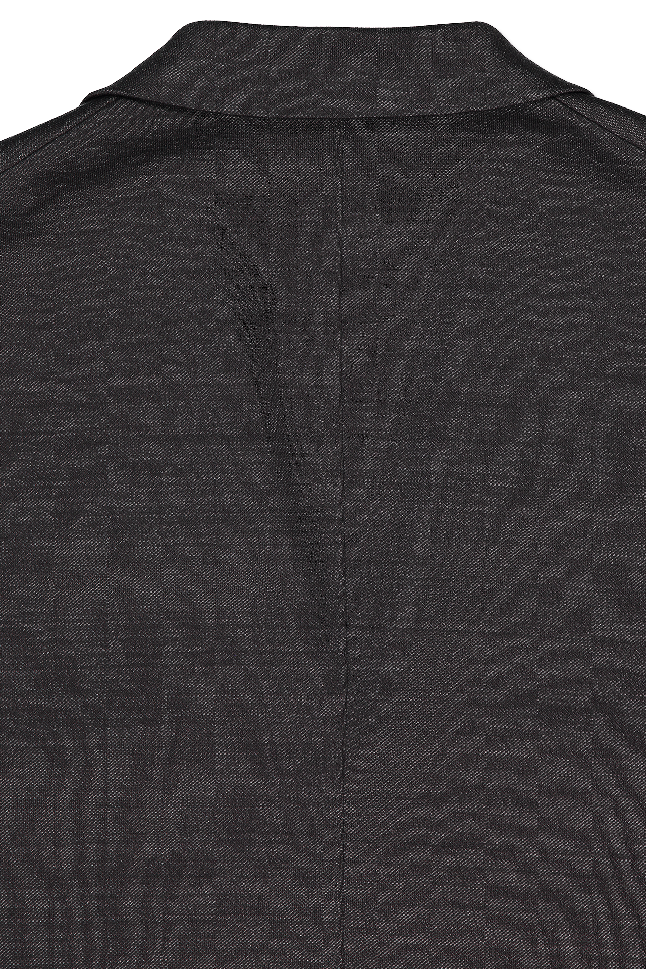 Back detail image of Harris Wharf London Men's Two Button Blazer Linen Jersey