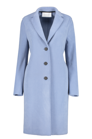 Front view image of Harris Wharf London Women's Overcoat Polaire