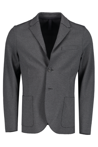 Stretch Piquet Blazer Anthracite