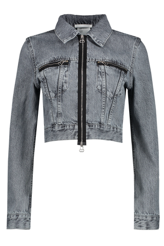Fem Little Tracker Jacket Acc Concrete Stone