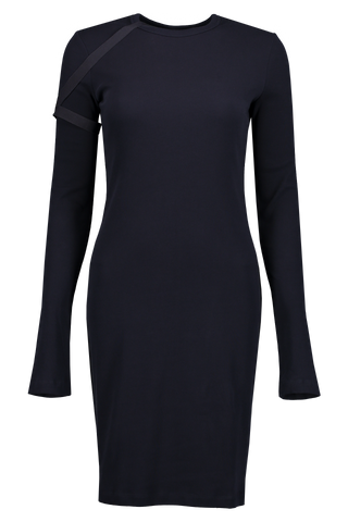 Front Image Longsleeve Harness Dress